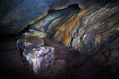 Coiba Mare cave in Romania Royalty Free Stock Images
