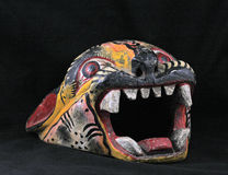 Coiffe de guerrier de jaguar Photographie stock libre de droits