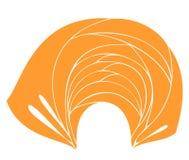Coiffe nationale traditionnelle, turban ?charpe tricot?e Logo, symbole, diagramme Image graphique Illustration de vecteur illustration stock