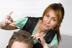 Coiffeur Images stock