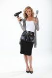 Coiffeur féminin Photos stock