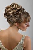 Coiffure невест Стоковая Фотография RF