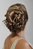 Coiffure невест Стоковая Фотография