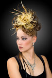 Coiffure 1.2 w.b. Stock Images