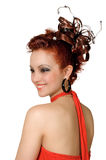 Coiffure 3 w.b. Stock Photography