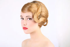 Coiffure Royalty Free Stock Image