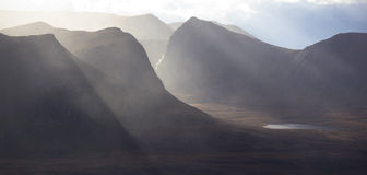Coigach in the Scottish Highlands. Stock Photography