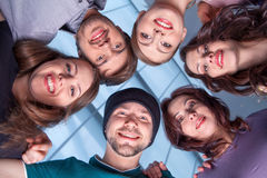 The coiiective group Royalty Free Stock Image