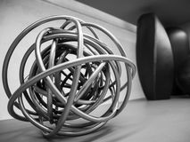 Coil complexity. To represent confusion of thinking Royalty Free Stock Images