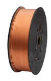 Coil of Copper Tube Royalty Free Stock Photography