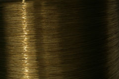 Coil of copper wire Royalty Free Stock Photography