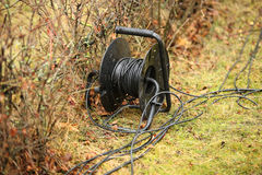 The coil with electric wire Stock Photo
