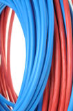 Coil of electrical cable Royalty Free Stock Image