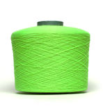 Coil with green thread Royalty Free Stock Photography