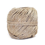 Coil of hemp twine Stock Photo