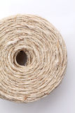 Coil of linen twine Stock Images
