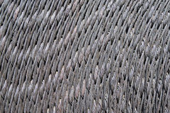 Coil of Metal Braided Ribbon Royalty Free Stock Photo