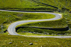 Coil road royalty free stock photography