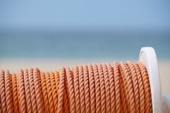 Coil of rope Royalty Free Stock Photos