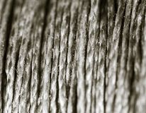 Coil of rope as background Royalty Free Stock Photo