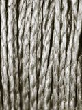 Coil of rope as background Royalty Free Stock Photos
