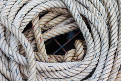 Coil of the rope Royalty Free Stock Photo