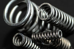 Coil spring Royalty Free Stock Photos