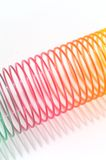 Coil Spring Toy Stock Image