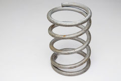 Coil spring Royalty Free Stock Photo
