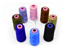Coil with thread Stock Images