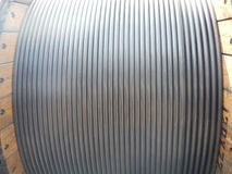 Coil tubing pipe Stock Photography