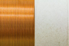 Coil winding texture Royalty Free Stock Photography