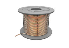 Coil of wire Royalty Free Stock Photography