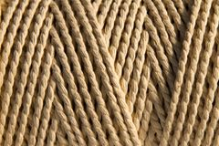 Coiled cord Royalty Free Stock Image