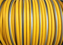 The Coiled hose in Agriculture. The Coiled hose in Agriculture stock photos