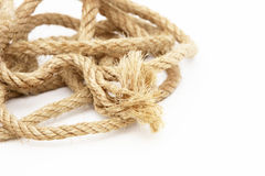 Frayed rope Stock Photo