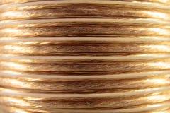 Coiled mówcy drut zdjęcie stock