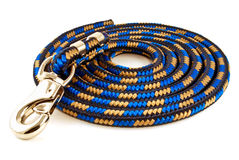 Coiled Mulitple Color Dog or Horse Lead Royalty Free Stock Images