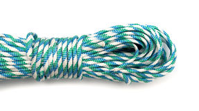 Coiled Nylon Rope Stock Image