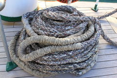 Coiled rope Royalty Free Stock Photos