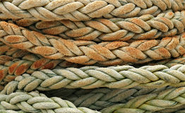 Free Coiled Rope Detail Stock Photography - 5408722