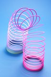 Coiled Spring Toy Royalty Free Stock Photo