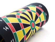 Coiled target darts Stock Images