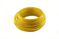 Coils av färgtrådar arkivfoto