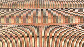 Coils of copper wire Stock Image