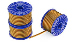 Coils of copper wires Royalty Free Stock Photos