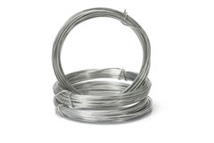 Coils of galvanized wires Royalty Free Stock Photography