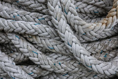 Coils of strong rope Royalty Free Stock Image