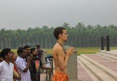 Coimbatore, tamil nadu/India-march-20-2019 Adiyogi światu popiersia rozmiaru wielka statua przy Isha joga podstawą dokąd obcokraj fotografia stock