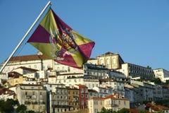 Coimbra budynki zdjęcie royalty free